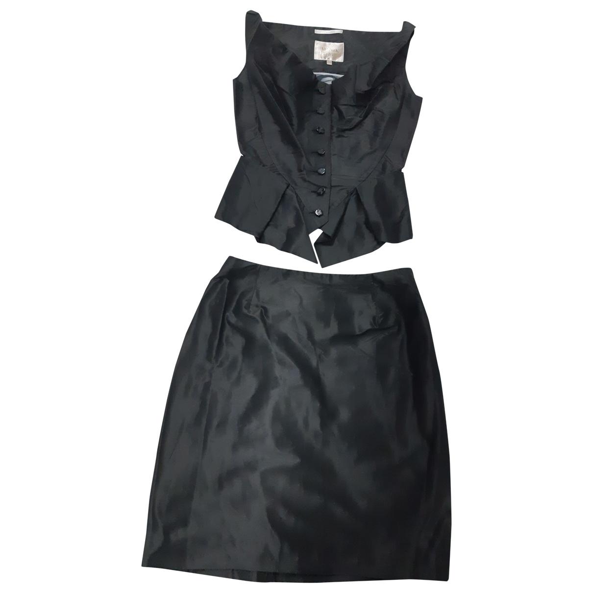 Vivienne Westwood - Combinaison   pour femme en soie - noir