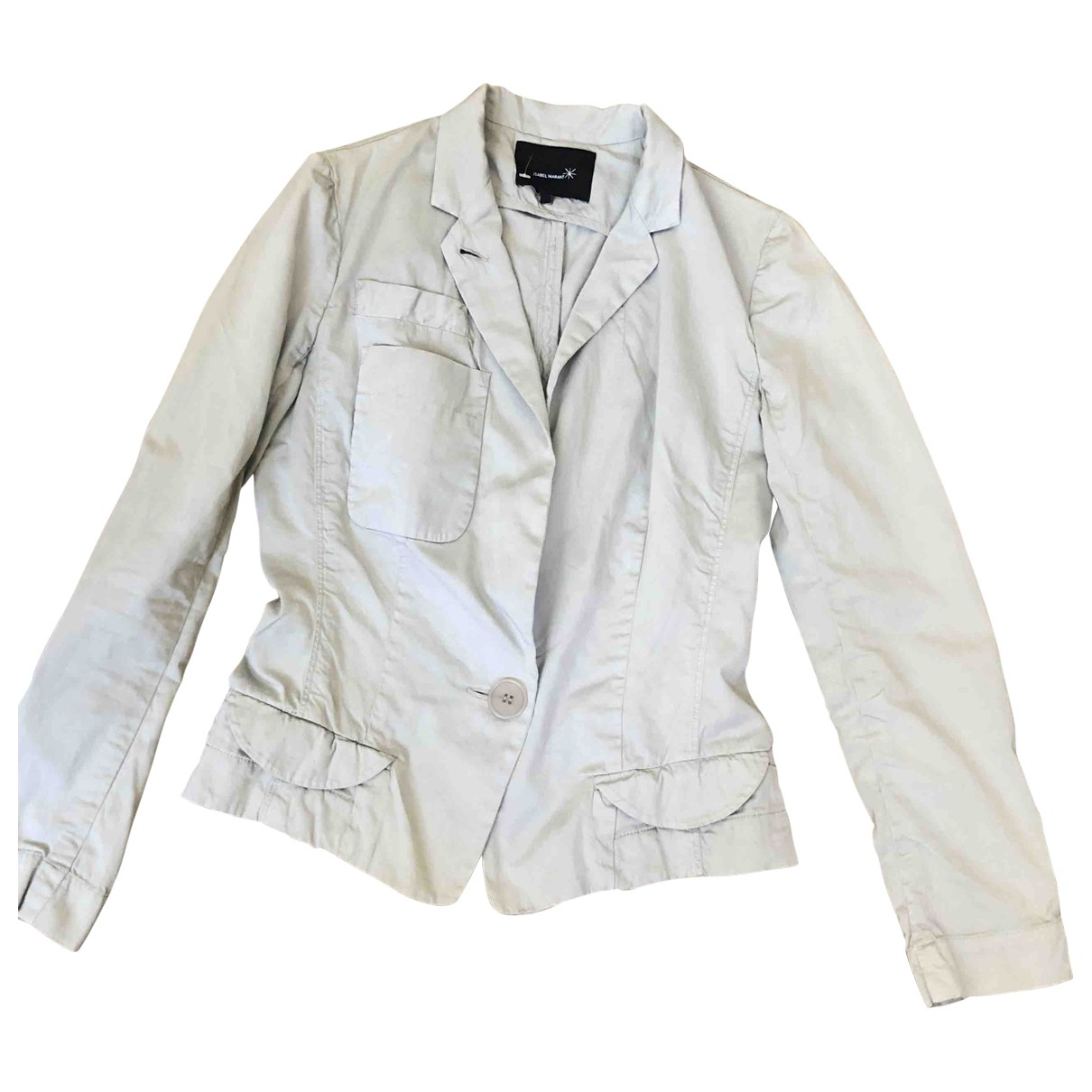 Isabel Marant Etoile \N Grey Cotton jacket for Women 1 0-5