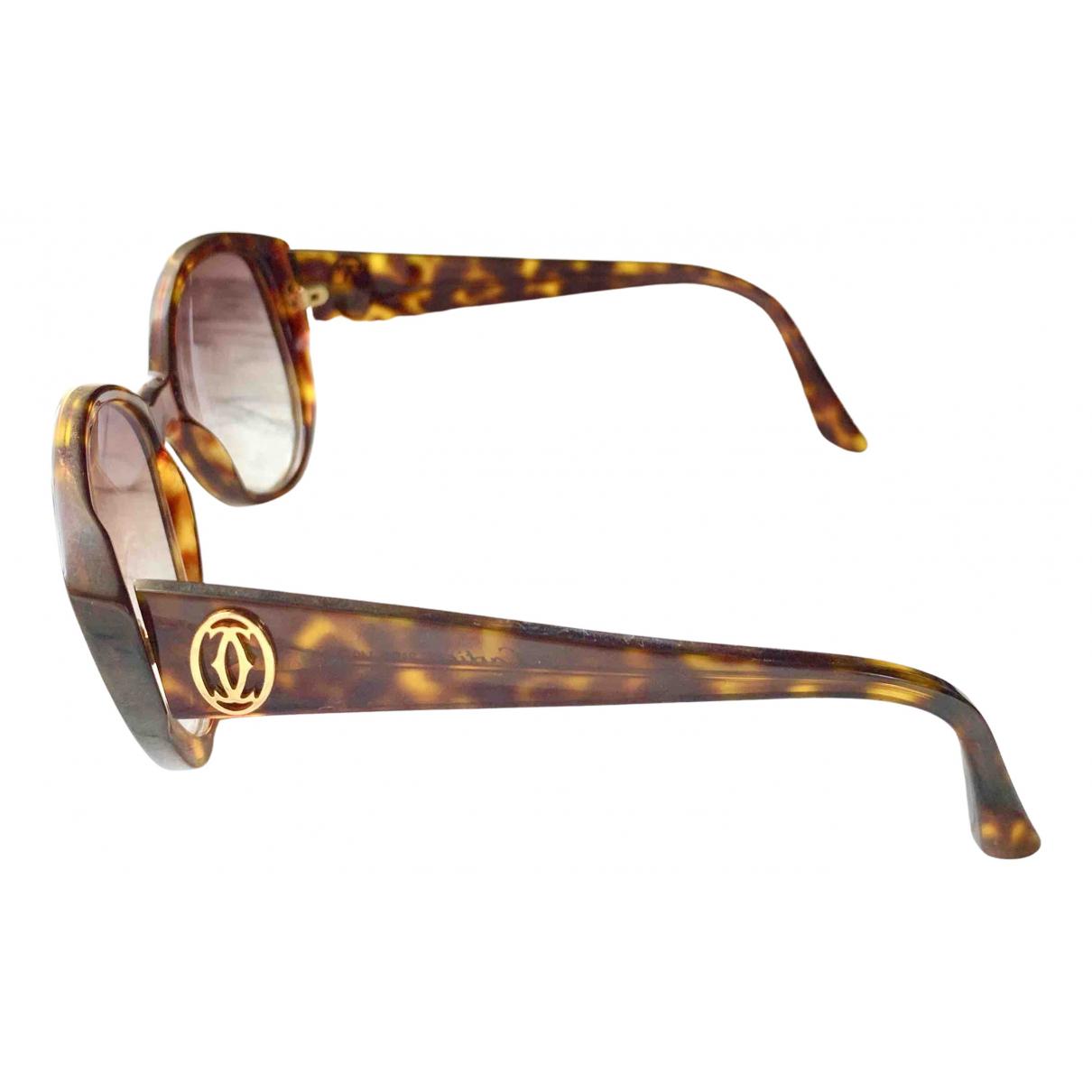 Cartier \N Brown Sunglasses for Women \N