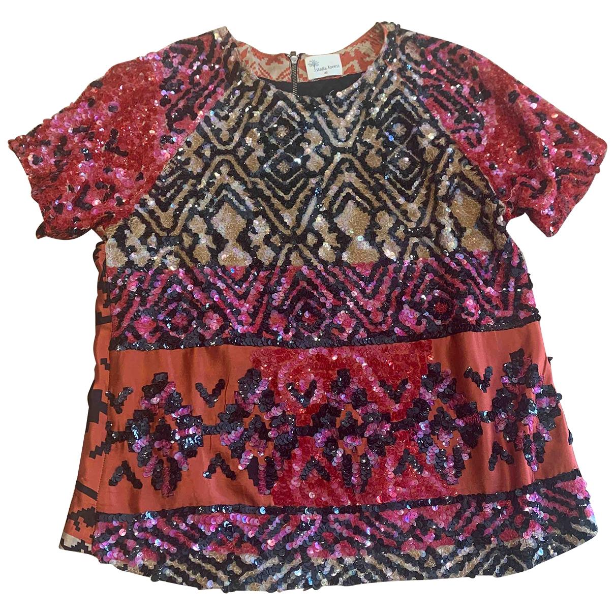 Stella Forest \N Red Silk  top for Women 40 FR
