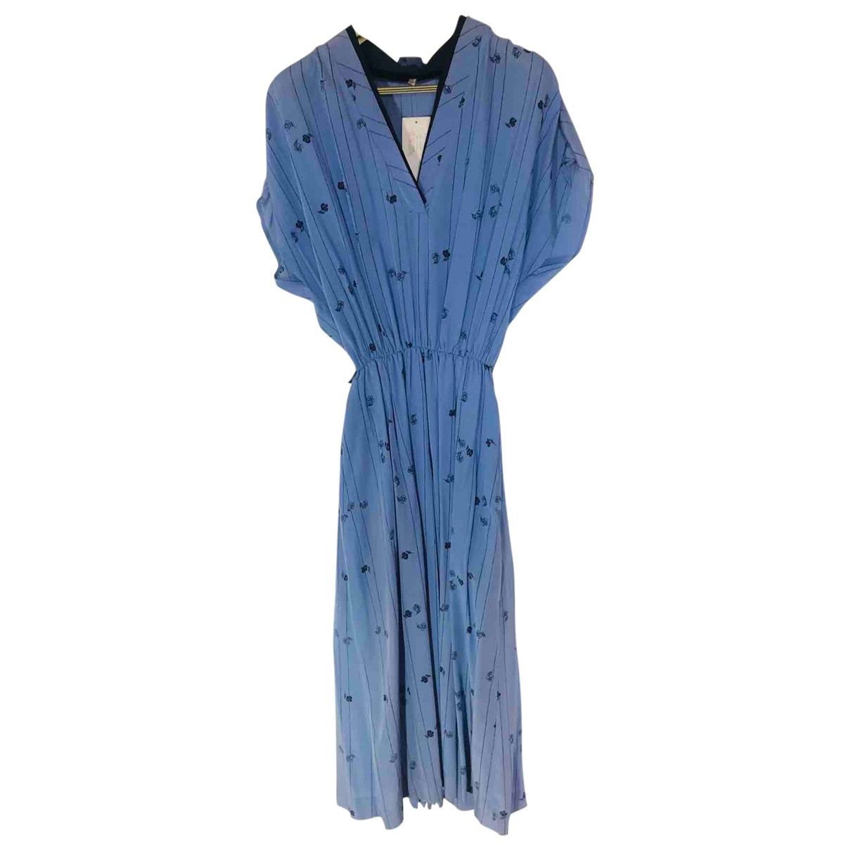 Non Signé / Unsigned \N Blue dress for Women 48 IT