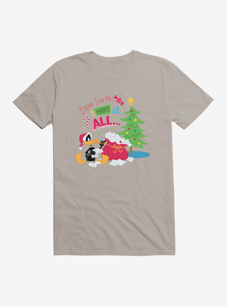 Looney Tunes Holiday I Want It All T-Shirt