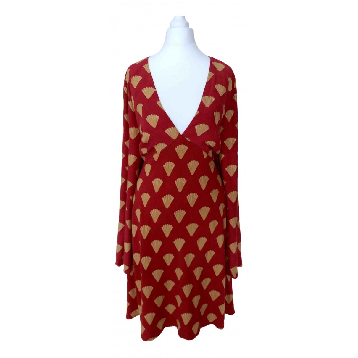 Rixo - Robe   pour femme - rouge