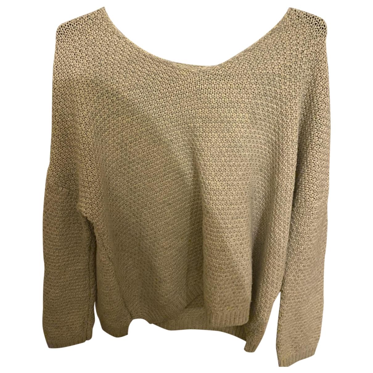 Sud Express \N Ecru Wool Knitwear for Women 40 FR