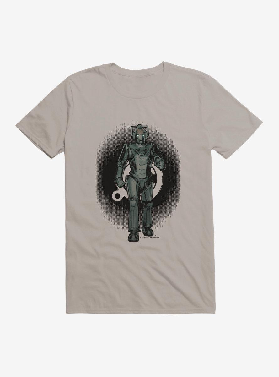 Doctor Who Cybermen Distorted Emblem T-Shirt