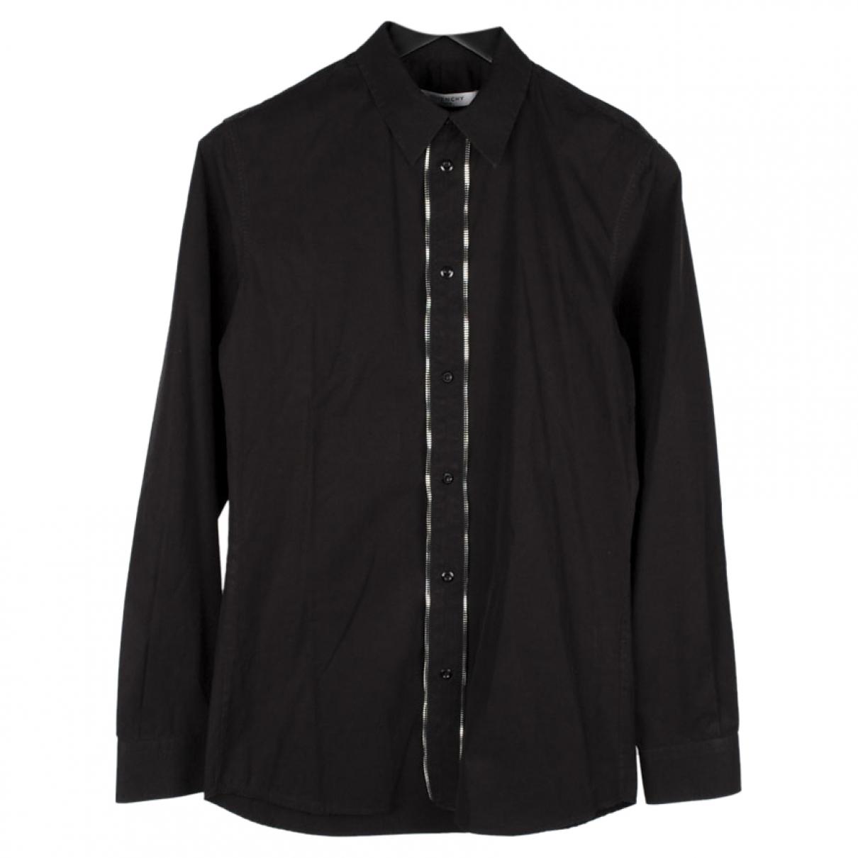 Givenchy - Chemises   pour homme en coton - noir