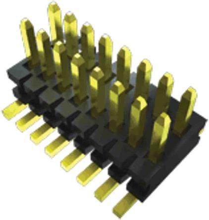 Samtec , FTE, 40 Way, 2 Row, Straight PCB Header (36)