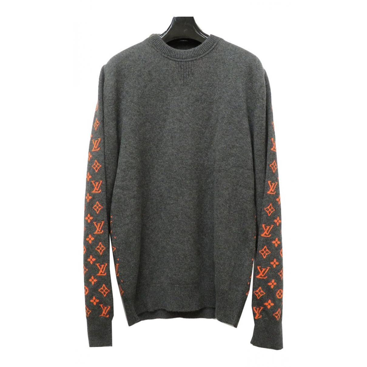 Louis Vuitton - Pulls.Gilets.Sweats   pour homme en cachemire - gris