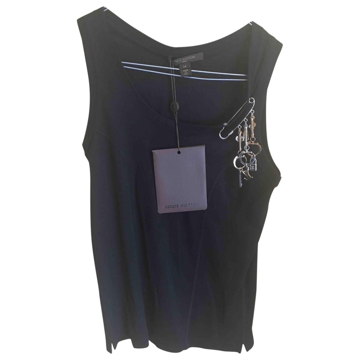 Louis Vuitton \N Black Cotton  top for Women M International