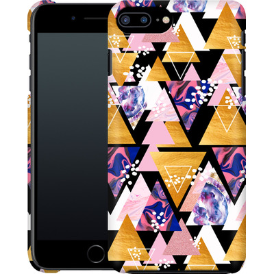 Apple iPhone 8 Plus Smartphone Huelle - Blush Geo Black von Mukta Lata Barua