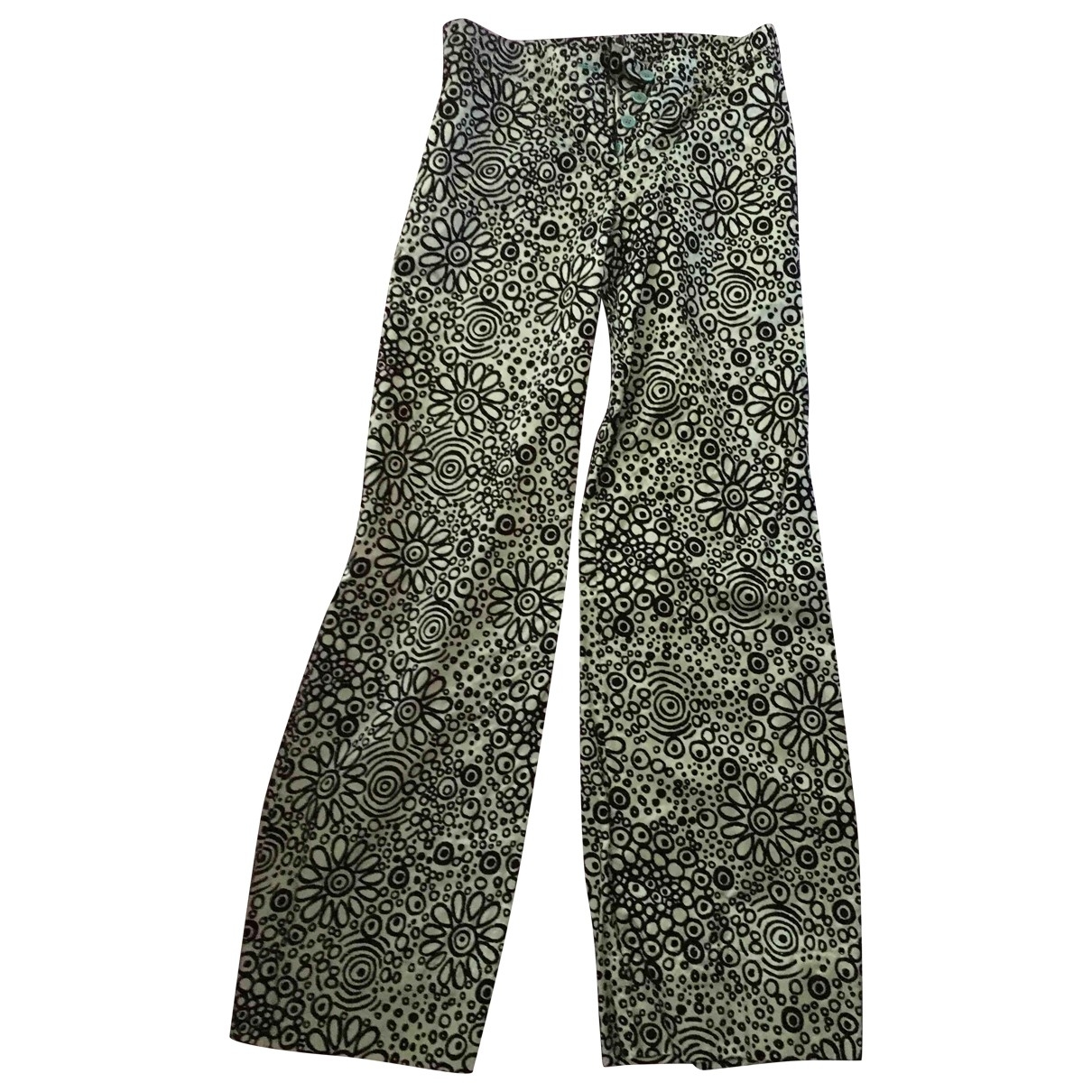 Pantalon en Viscosa Multicolor Aspesi