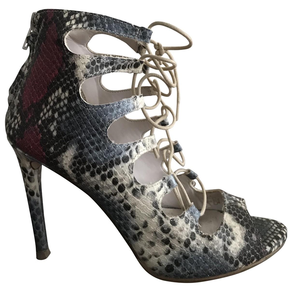 Zara \N Multicolour Leather Heels for Women 38 EU
