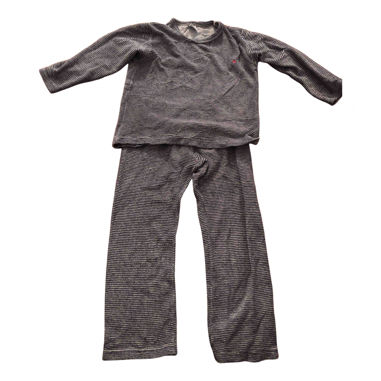 Petit Bateau N Blue Cotton Outfits for Kids 6 years - up to 114cm FR
