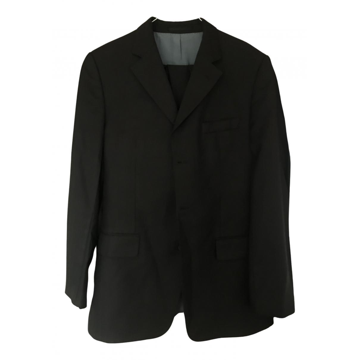 Boss \N Brown Wool Suits for Men 42 FR