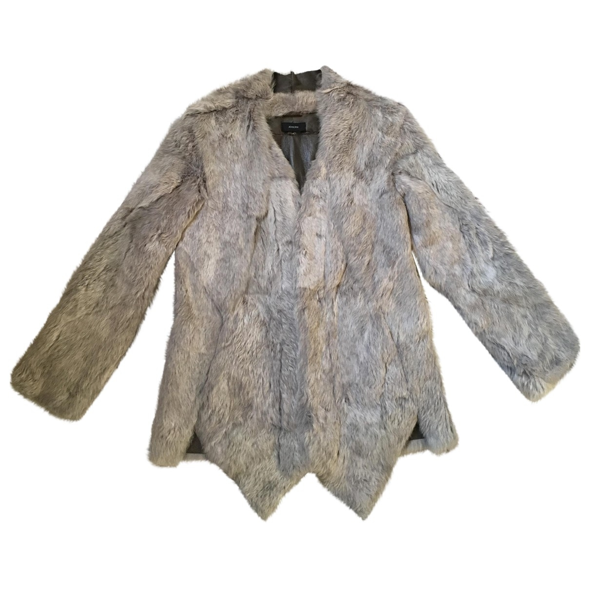 Joseph \N Grey Rabbit coat for Women 38 FR