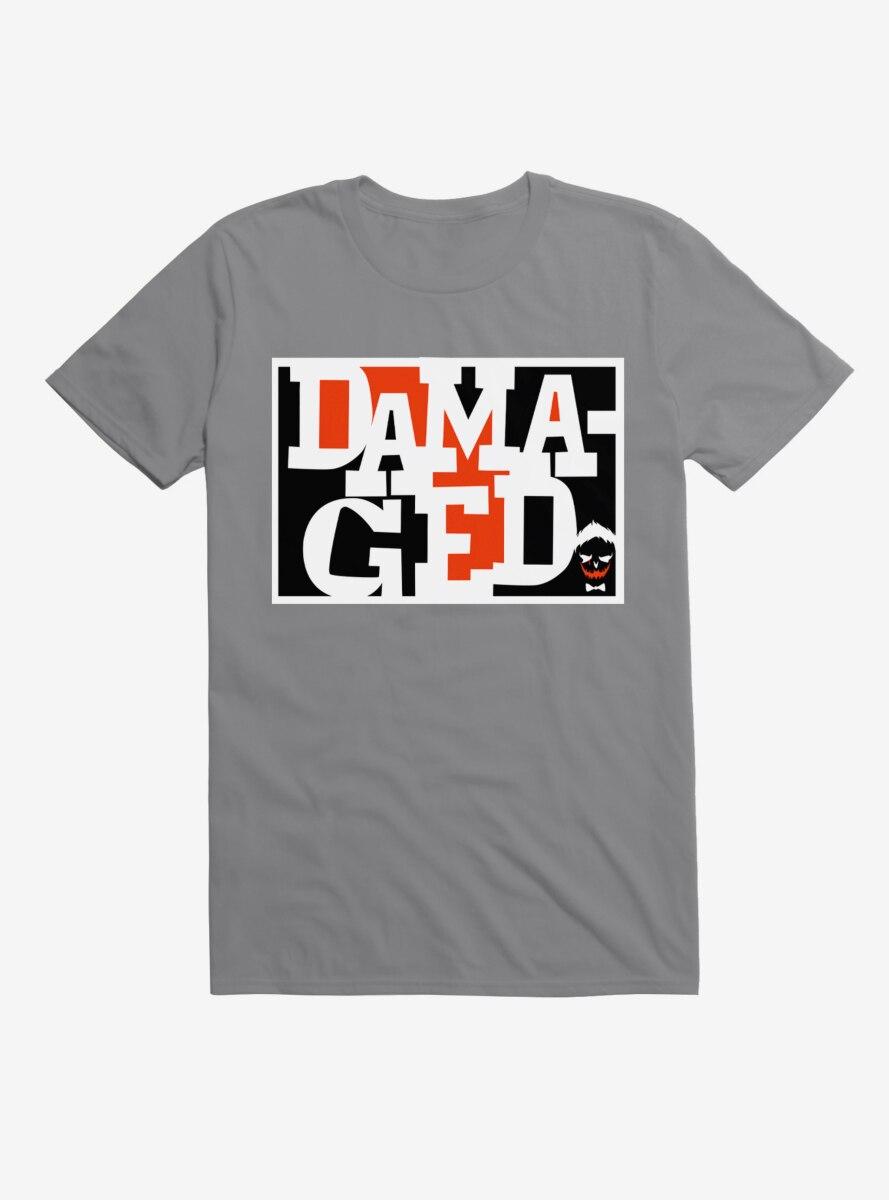 DC Comics Suicide Squad Damaged Joker T-Shirt