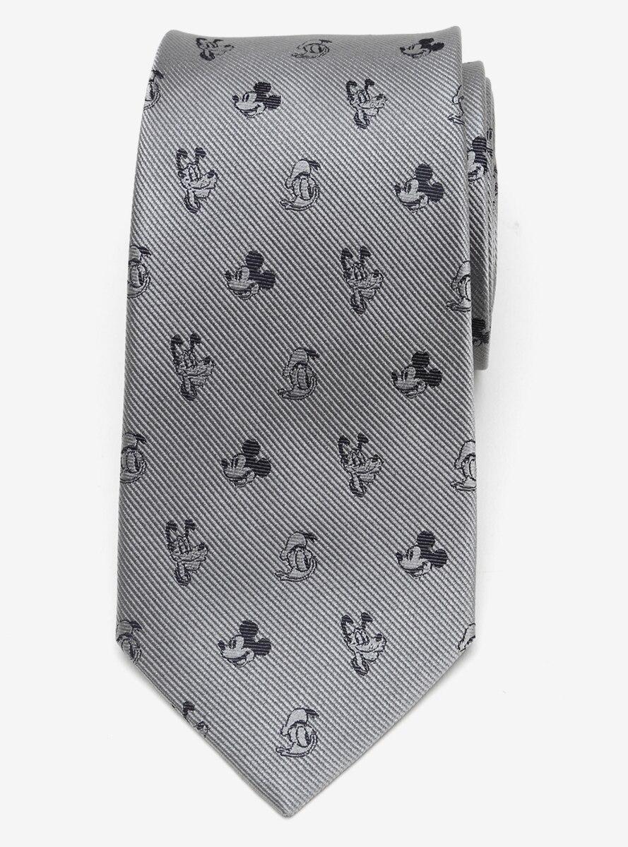 Disney Mickey and Friends Gray Tie
