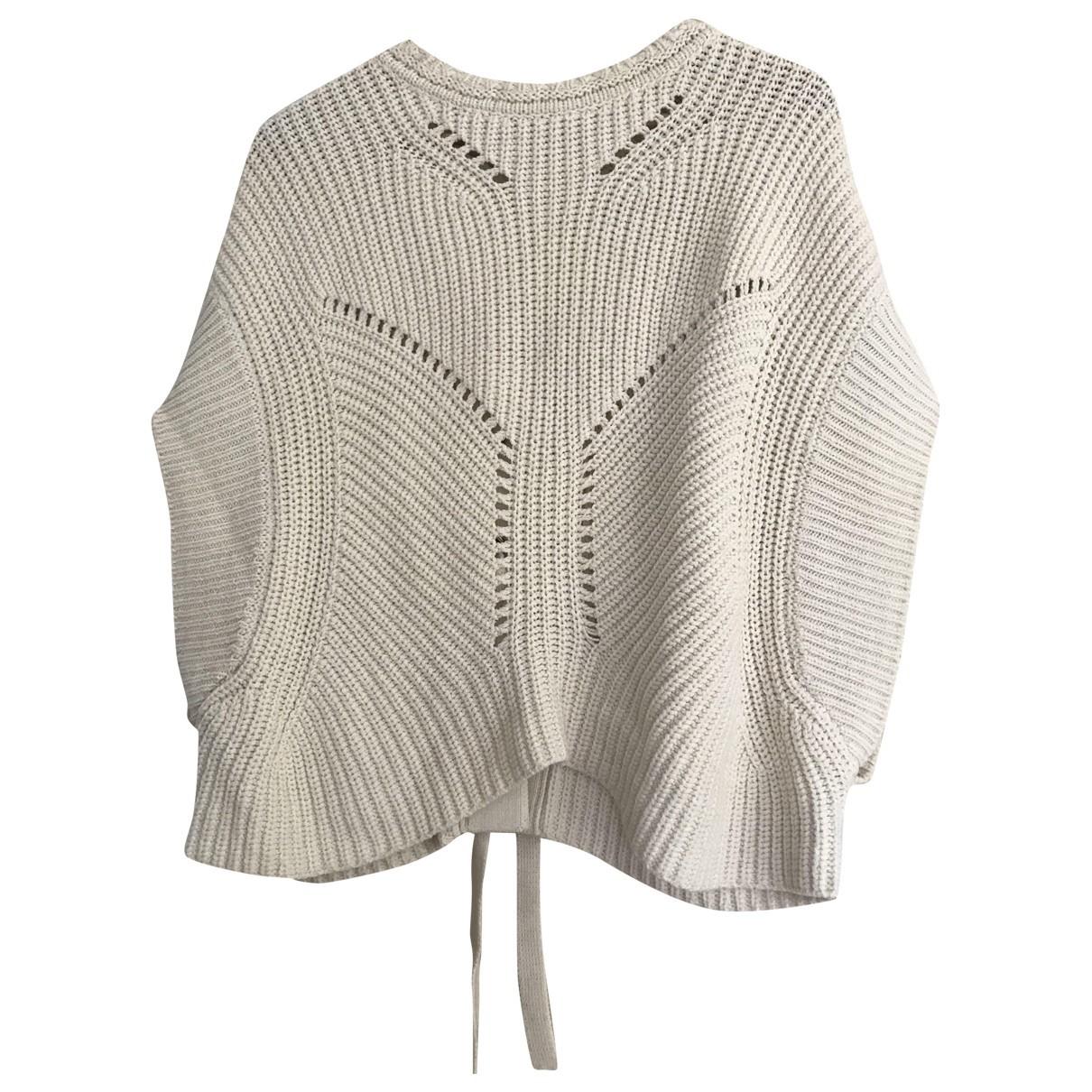 Isabel Marant \N Ecru Cotton Knitwear for Women 38 FR