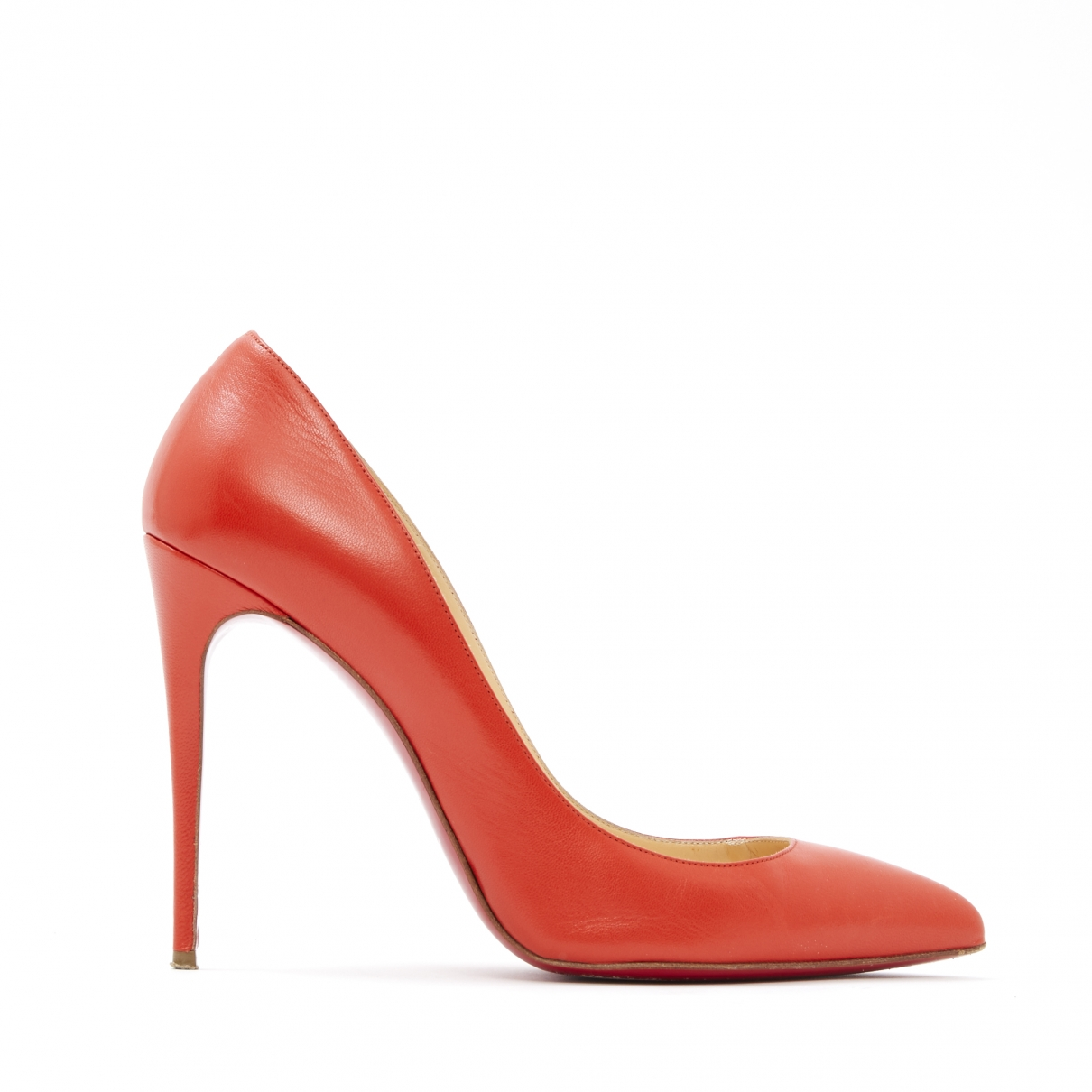 Christian Louboutin So Kate  Pumps in  Orange Leder