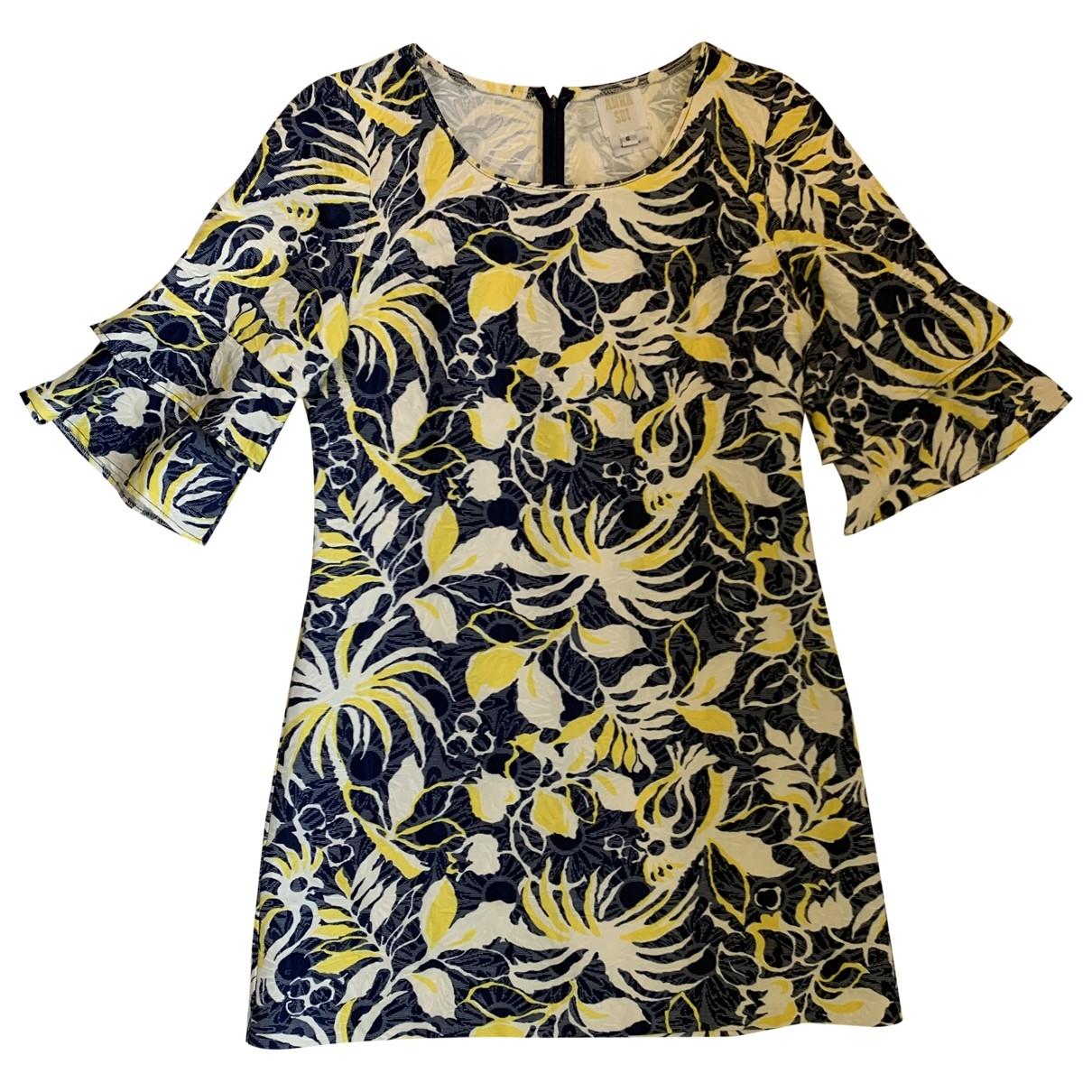 Anna Sui \N Multicolour Cotton - elasthane dress for Women 6 US