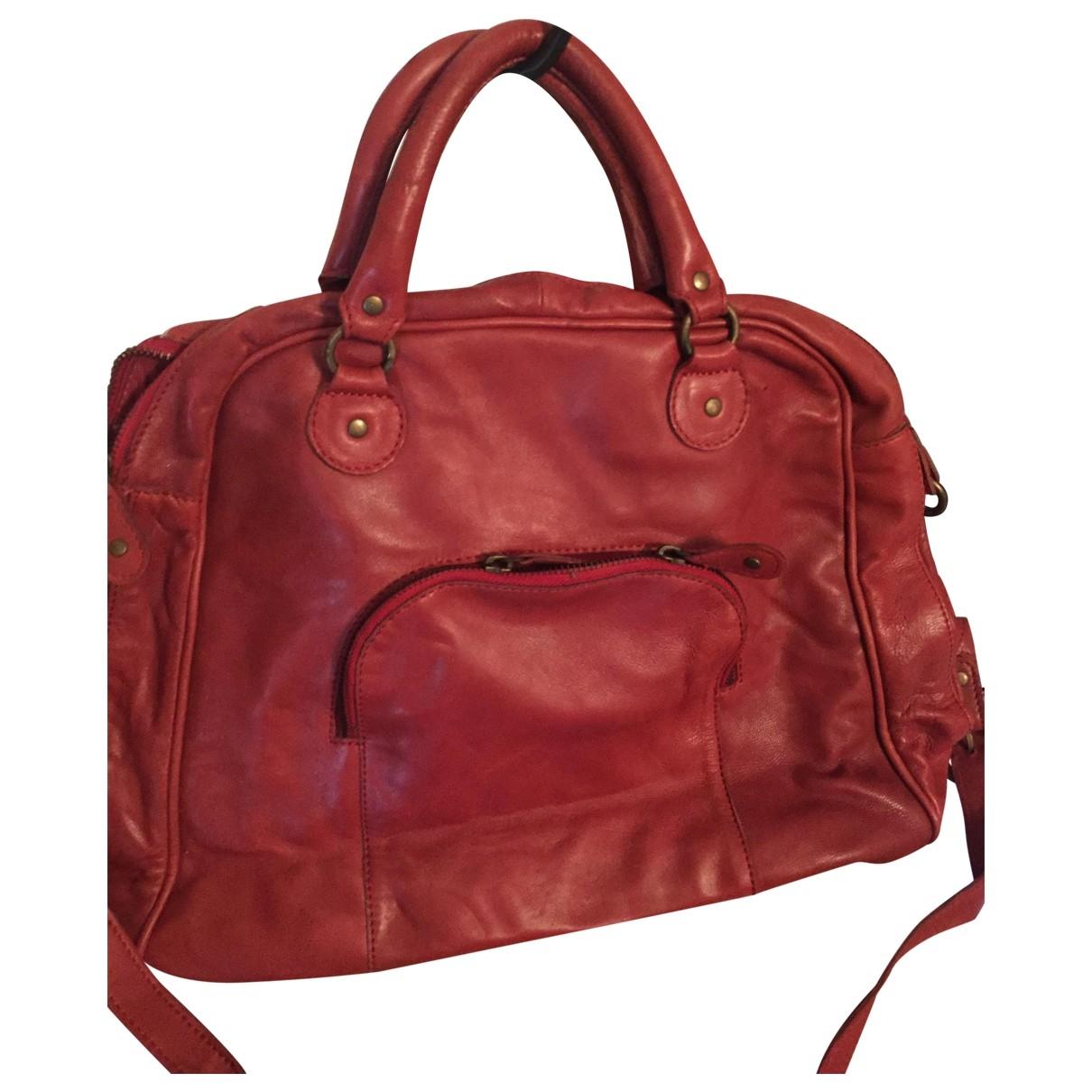 Pablo \N Handtasche in  Rot Leder