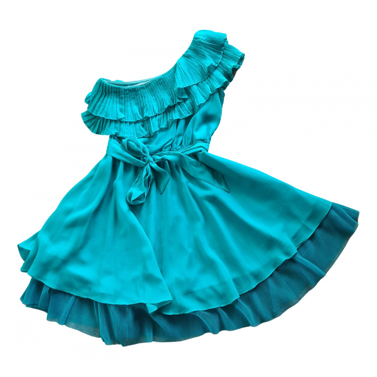 Guy Laroche \N Kleid in  Tuerkis Polyester