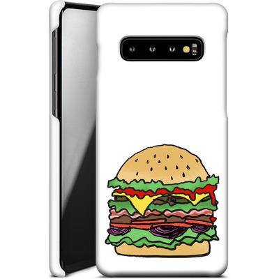 Samsung Galaxy S10 Smartphone Huelle - Burger  von caseable Designs