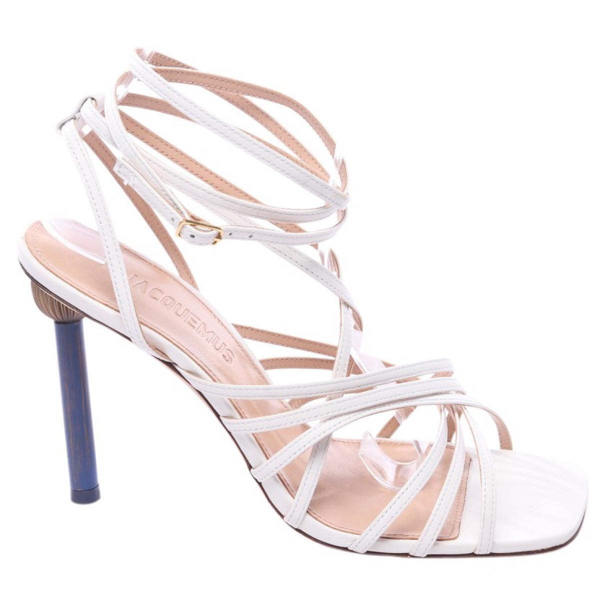 Sandalias de Cuero Jacquemus