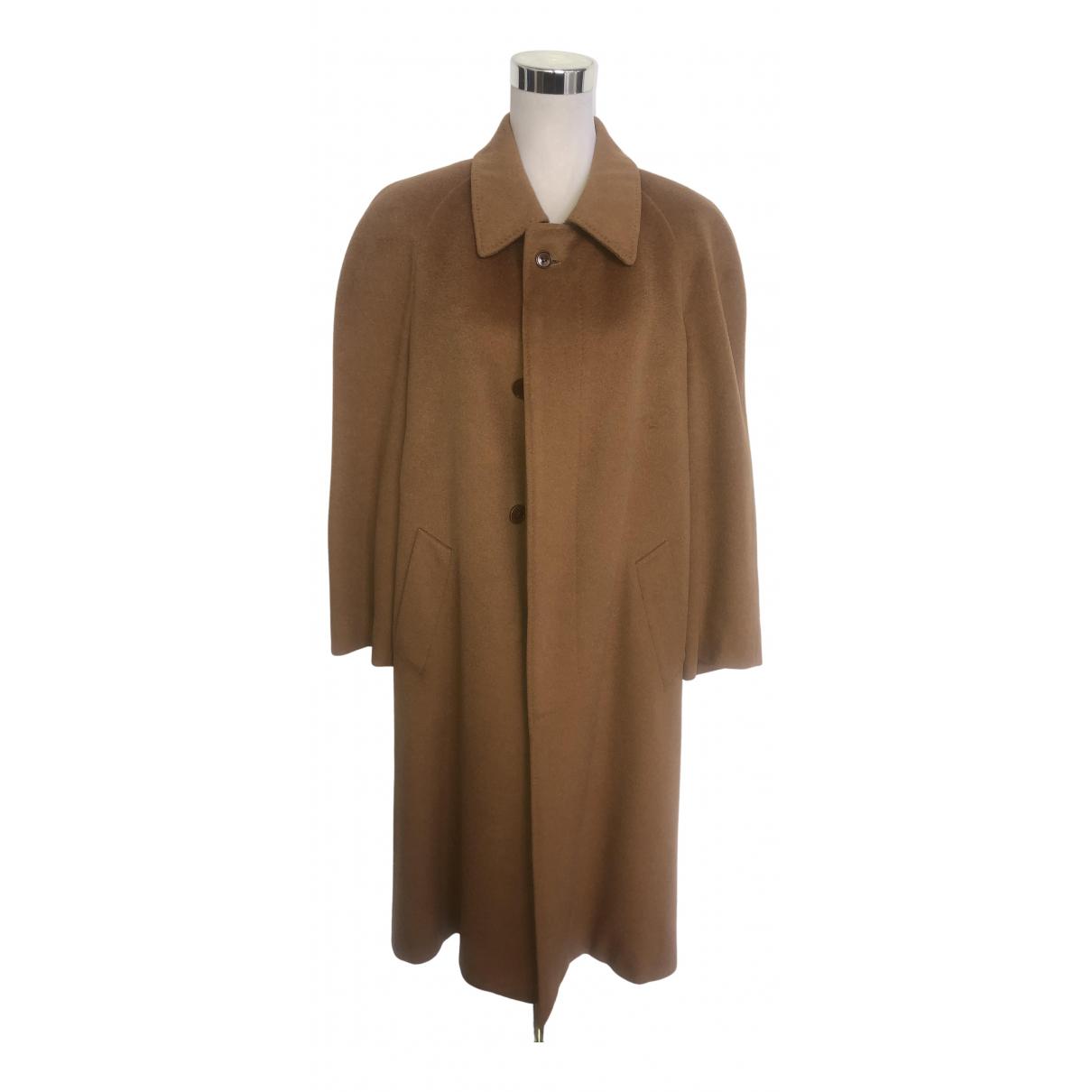 Yves Saint Laurent - Manteau   pour femme en laine - camel