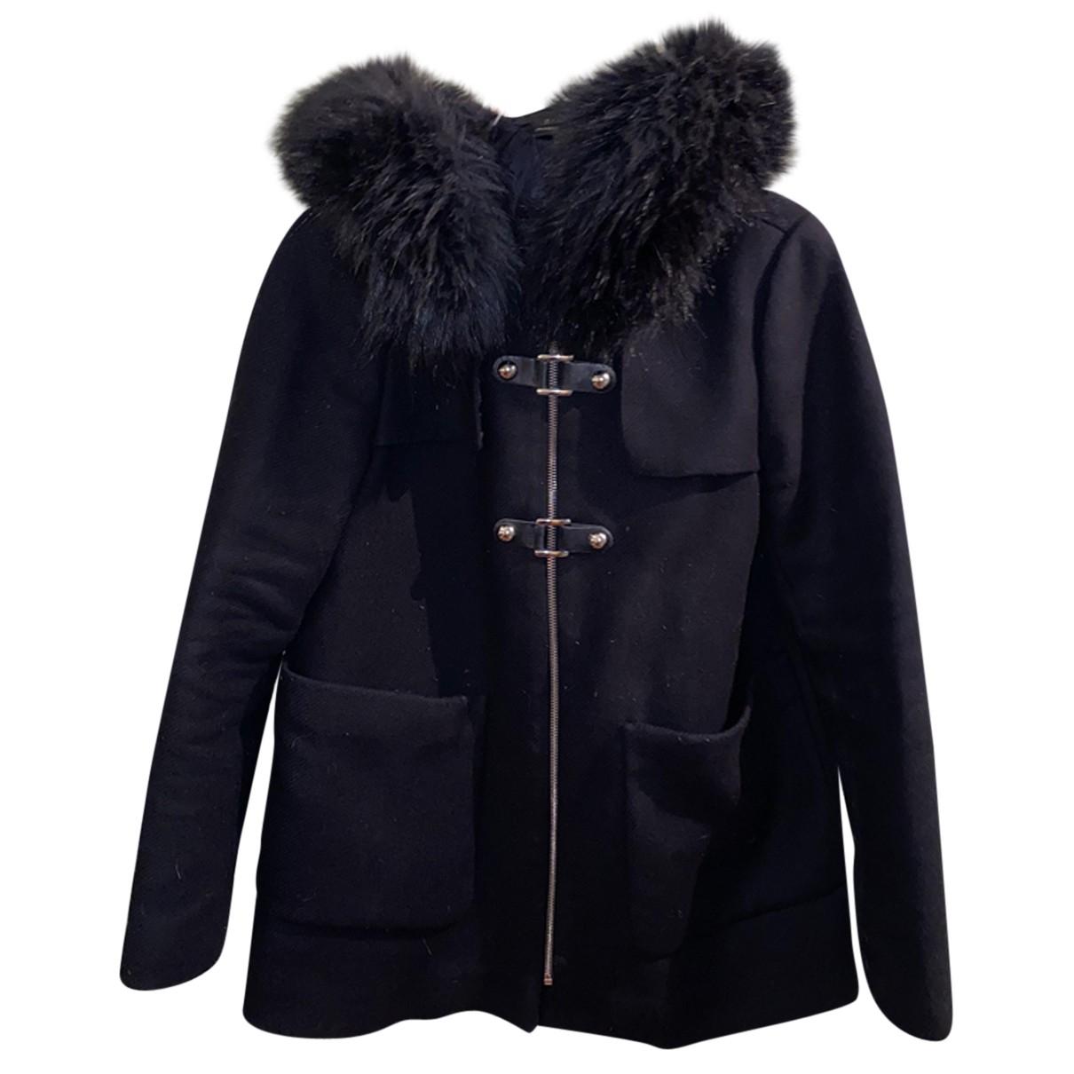 Zara N Black Wool coat for Women S International