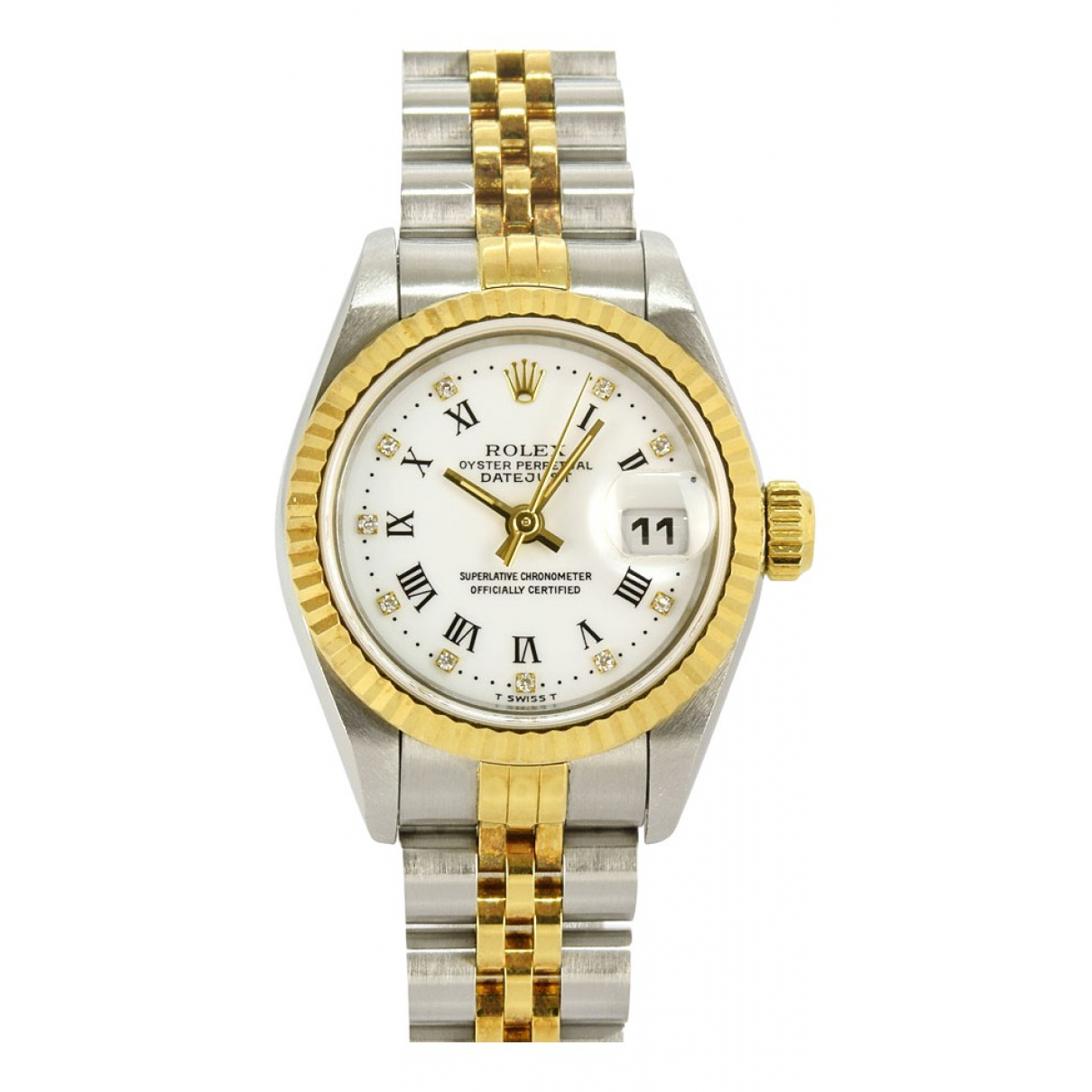 Rolex Lady DateJust 26mm White gold and steel watch for Women \N