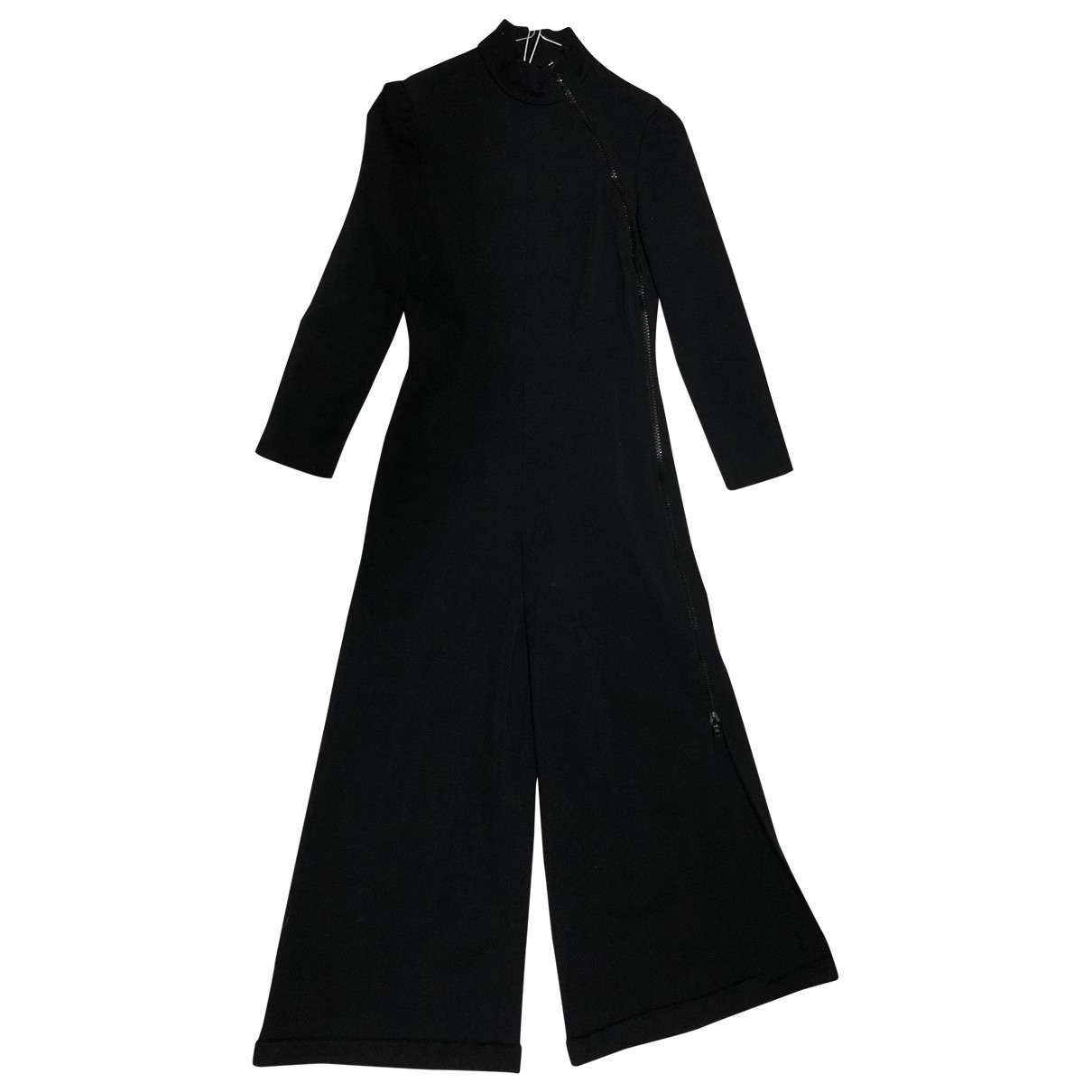 Non Signé / Unsigned \N Black Wool jumpsuit for Women 36 FR