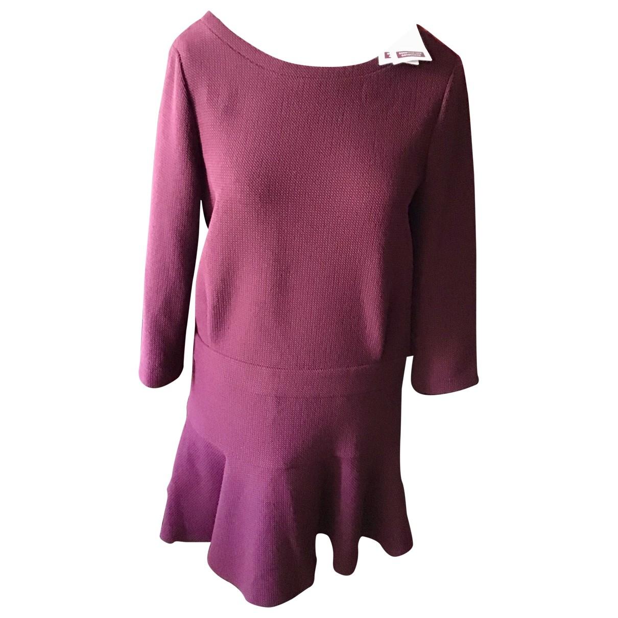 Comptoir Des Cotonniers \N Burgundy dress for Women 40 FR