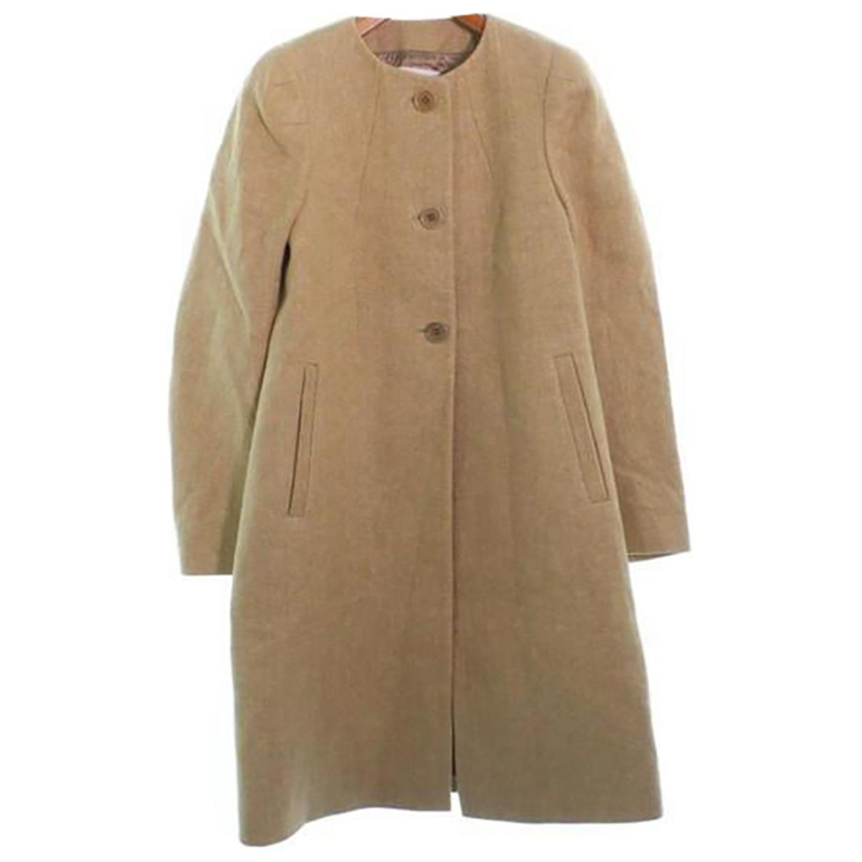 Dries Van Noten - Manteau   pour femme en lin - beige