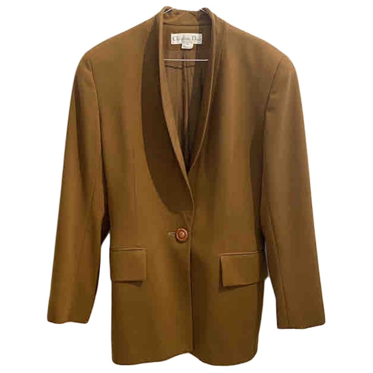 Dior - Veste   pour femme en laine - vert