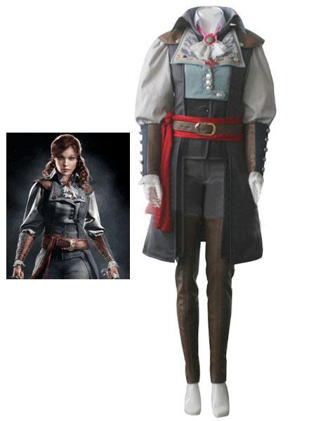 Milanoo Inspired By Assassin's Creed Unity Elise Halloween Cosplay Costume Halloween