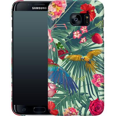 Samsung Galaxy S7 Edge Smartphone Huelle - Tropic Fun von Mark Ashkenazi