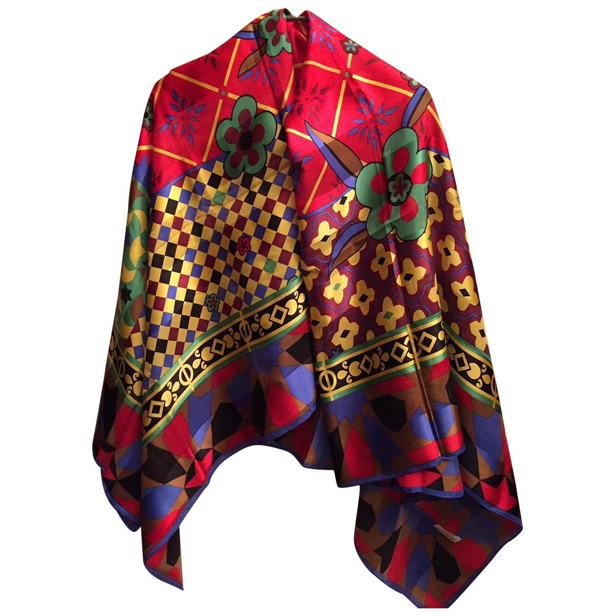 Guy Laroche \N Multicolour Silk scarf for Women \N