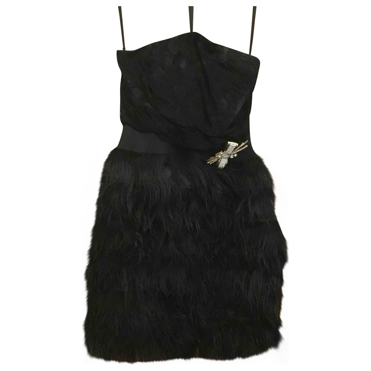Elisabetta Franchi \N Black Lace dress for Women 40 IT