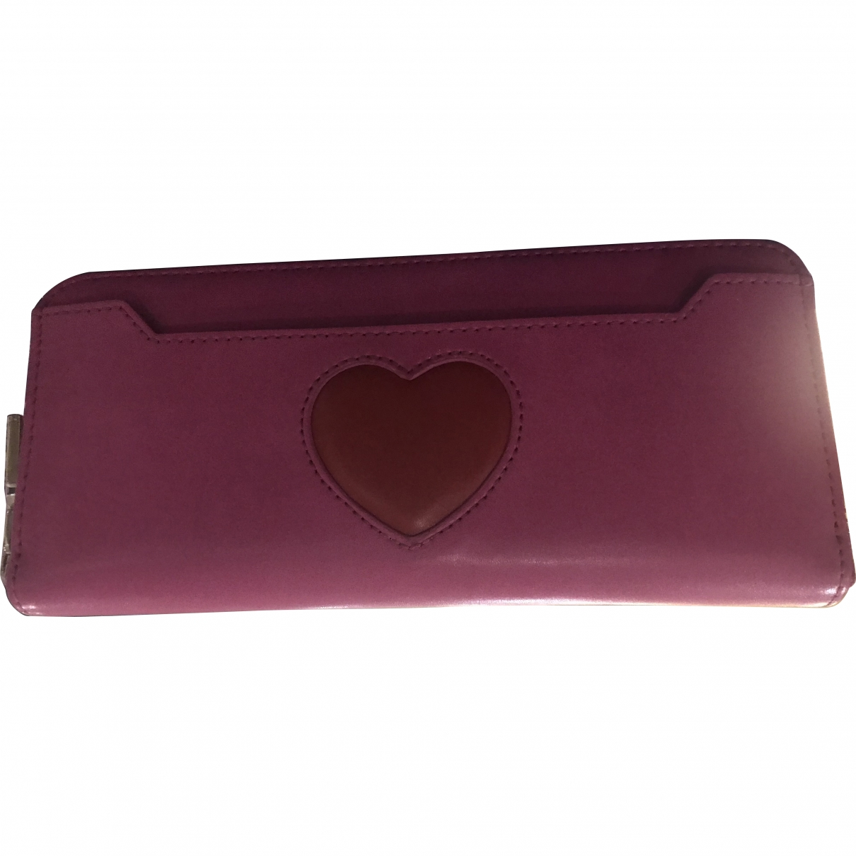 Moschino Love \N Pink Leather Clutch bag for Women \N