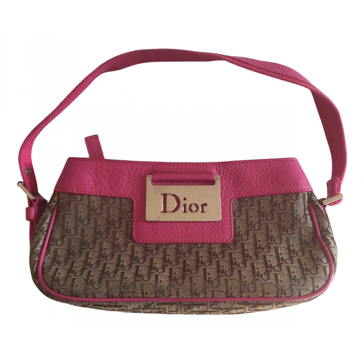 Dior Columbus Beige Cloth handbag for Women \N