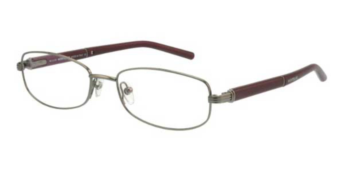 Mont Blanc MB0301 012 C Mens Glasses Brown Size 53 - Free Lenses - HSA/FSA Insurance - Blue Light Block Available