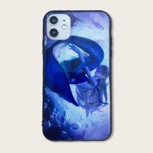 iPhone Etui mit Meerjungfrau Muster