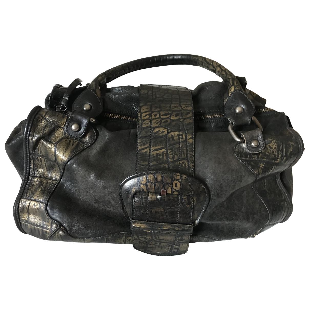 Gianni Chiarini \N Handtasche in  Schwarz Leder