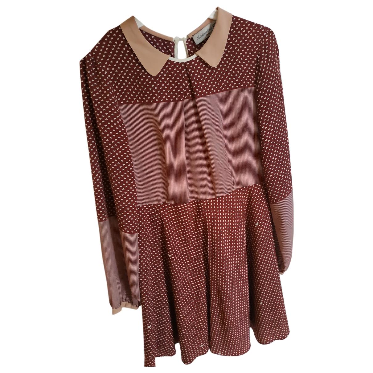 Tara Jarmon \N Kleid in  Bordeauxrot Polyester