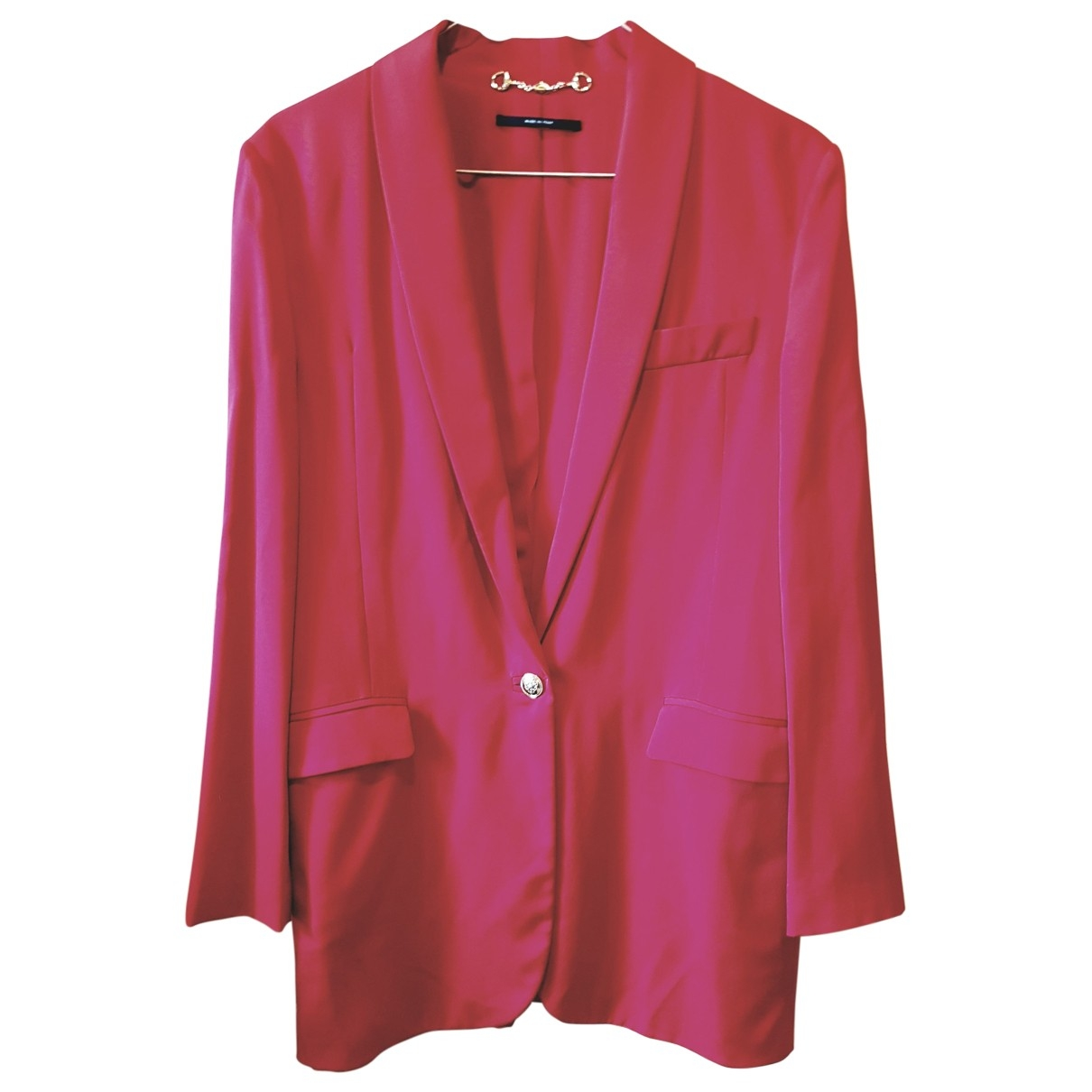 Gucci \N Red Silk jacket for Women 44 IT