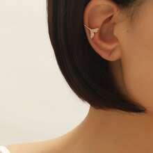 1 Stueck Ohrringe mit Meerjungfrauschwanz Design