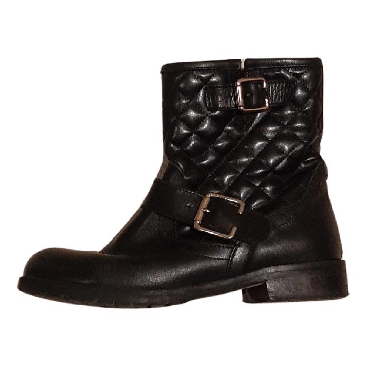 Scoop \N Stiefeletten in  Schwarz Leder