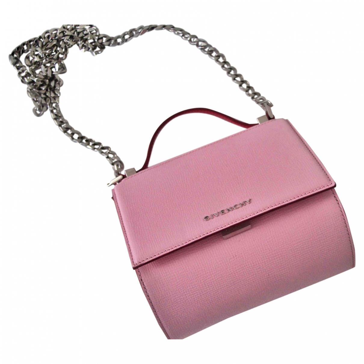 Givenchy - Sac a main Pandora Box pour femme en cuir - rose