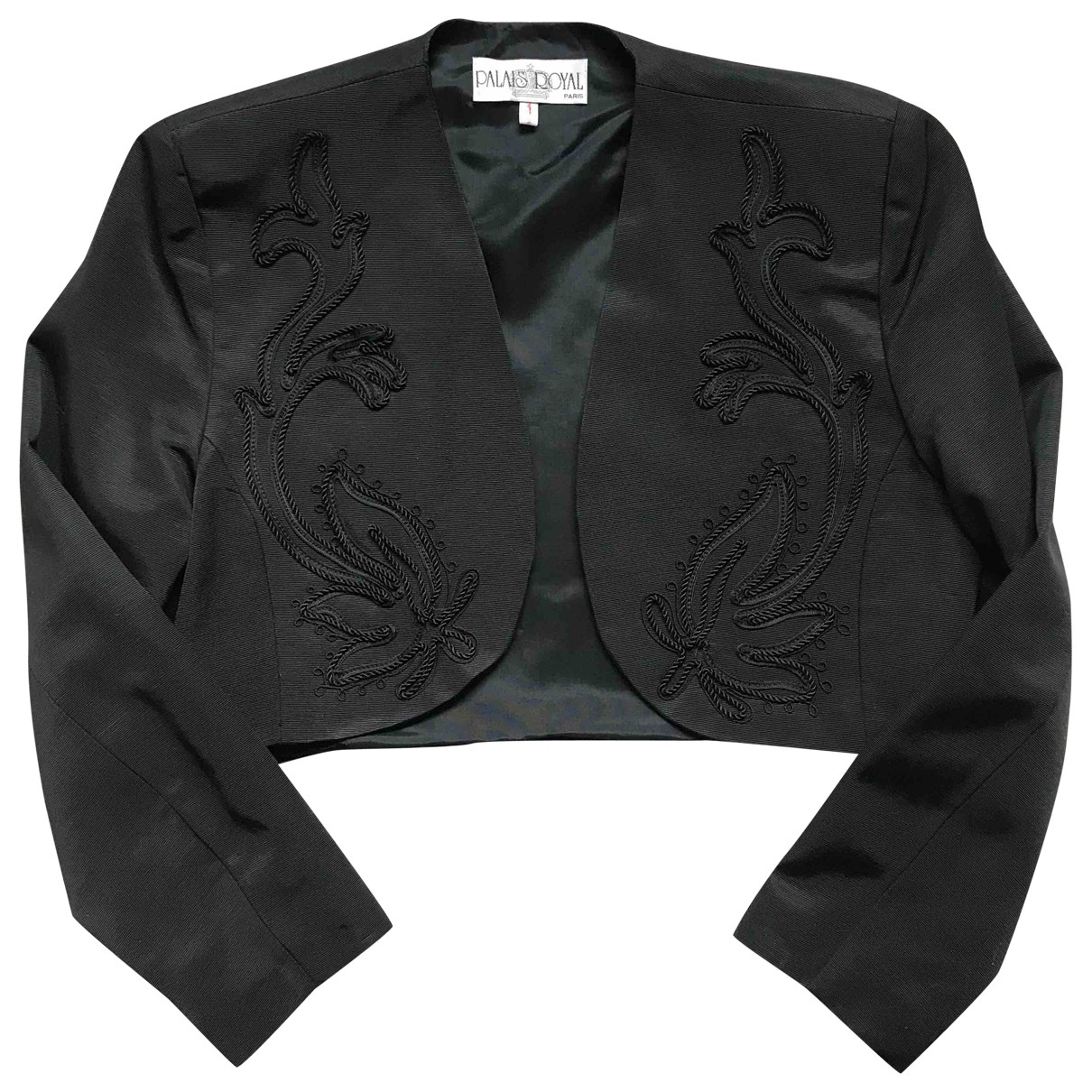 Non Signé / Unsigned \N Black Cotton jacket for Women 1 0-5